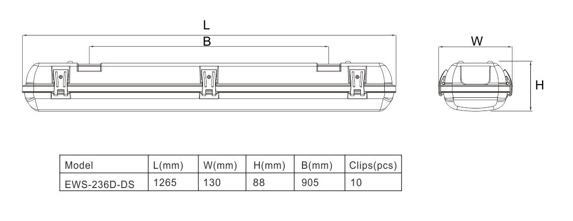 贴片 D 款 带 感应 尺寸 图
