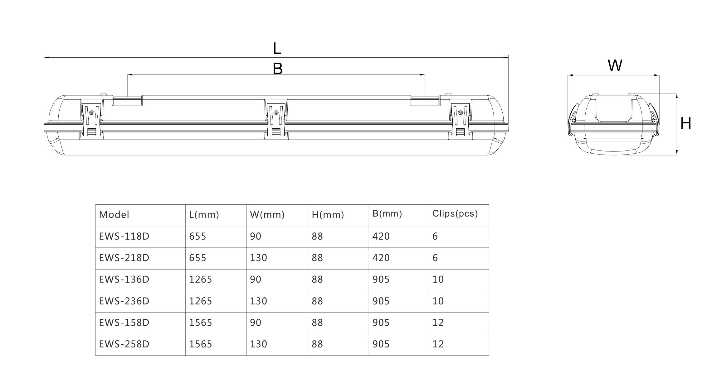 EWS-D尺寸图