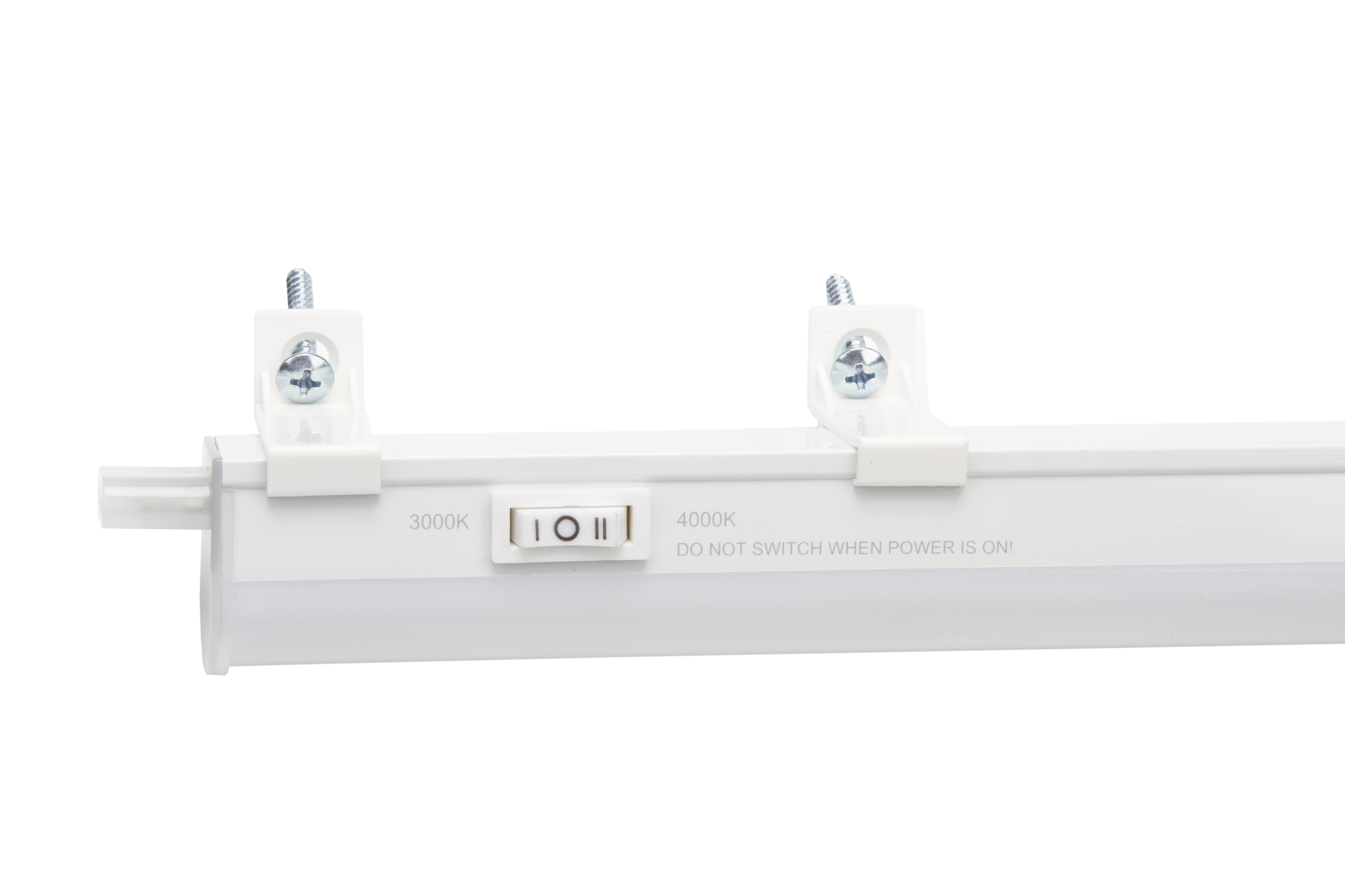 8029 Color temperature adjustable LED batteh fitting